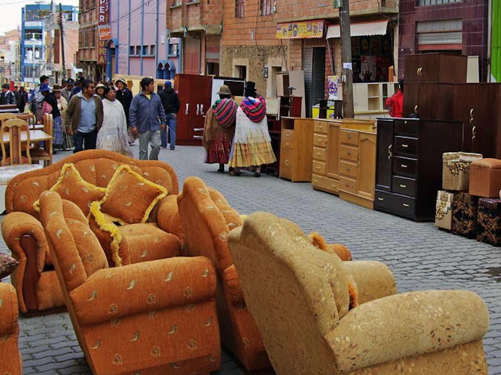 El Alto Market, La Paz - by www.wasleys.org.uk