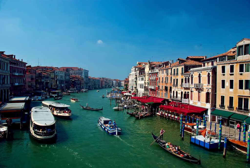 Grand Canal, Venice - by Trish Hartmann - trishhartmann:Flickr