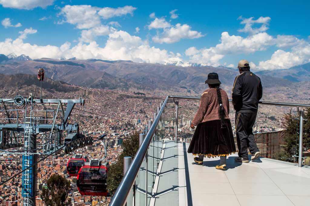 Mi Teleférico, La Paz - by David Almeida - David Baggins:Flickr