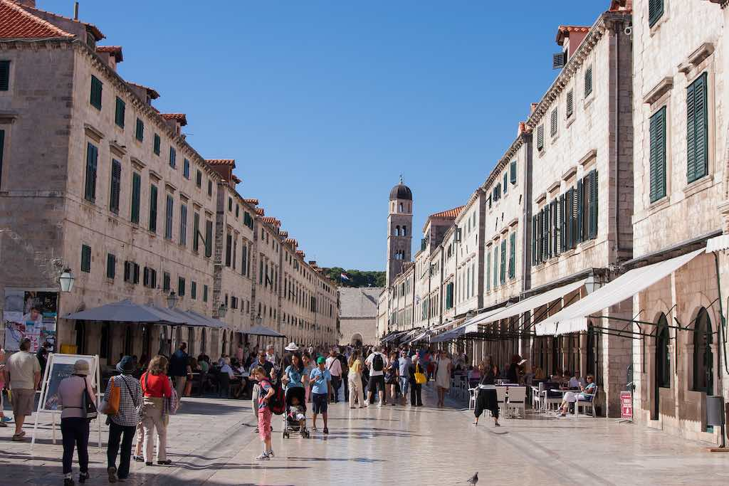 Old Town, Stradun, Dubrovnik - by James Laing:Flickr