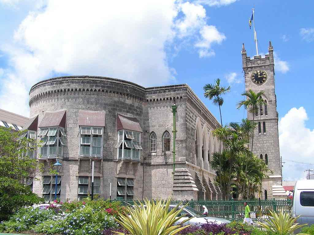 Parliament Building, Barbados - by Regani:Wikimedia