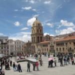 Plaza San Francisco, La Paz - by victorhugo_nogales:Wikimedia
