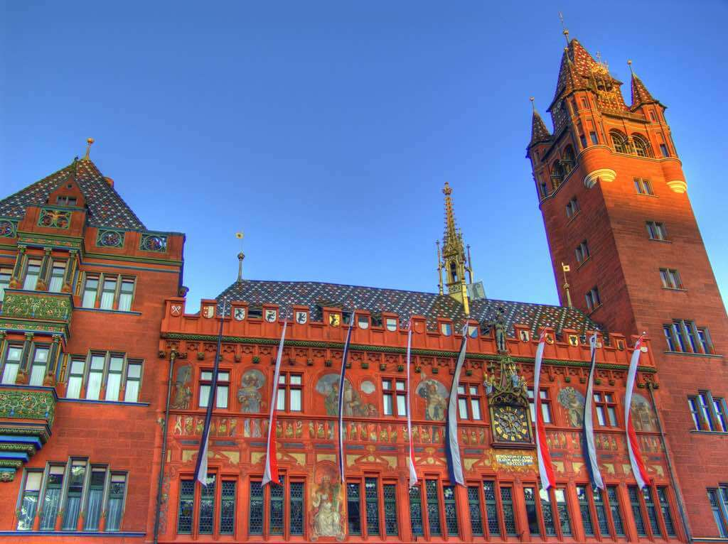 Rathaus, Basel - by Martin Abegglen - twicepix:Flickr