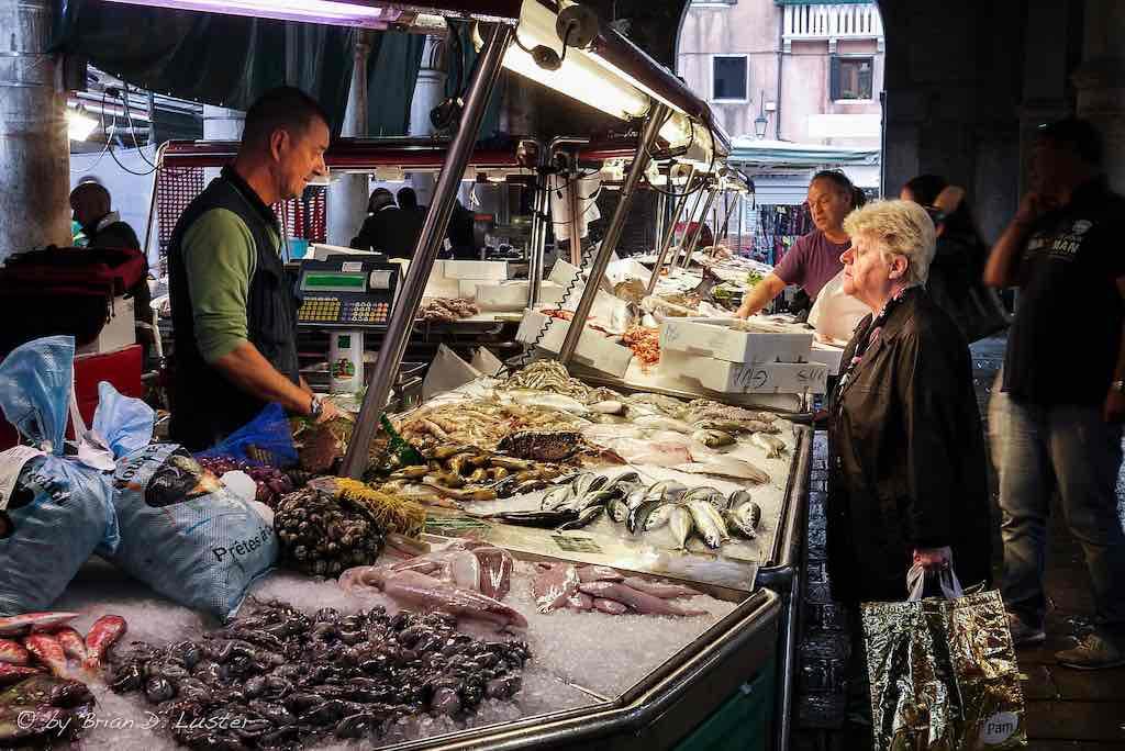 Rialto Market, Venice - by Brian Luster - Brian D. Luster:Flickr