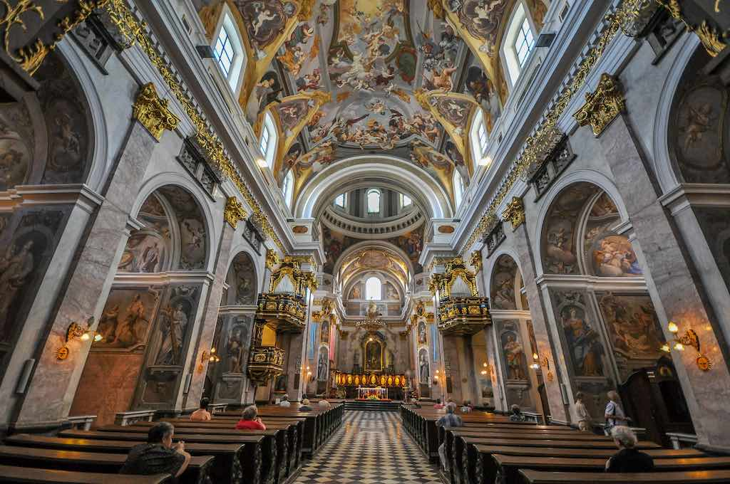 St. Nicholas Cathedral, Ljubljana - by Jorge Láscar:Flickr
