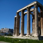 Temple of Olympian Zeus, Athens - by Börkur Sigurbjörnsson - borkur.net:Flickr