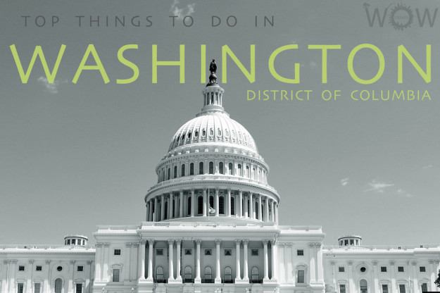 Top 11 Things To Do In Washington DC