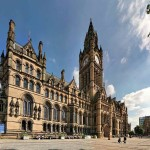 Town Hall, Manchester - by Juliux:Wikimedia