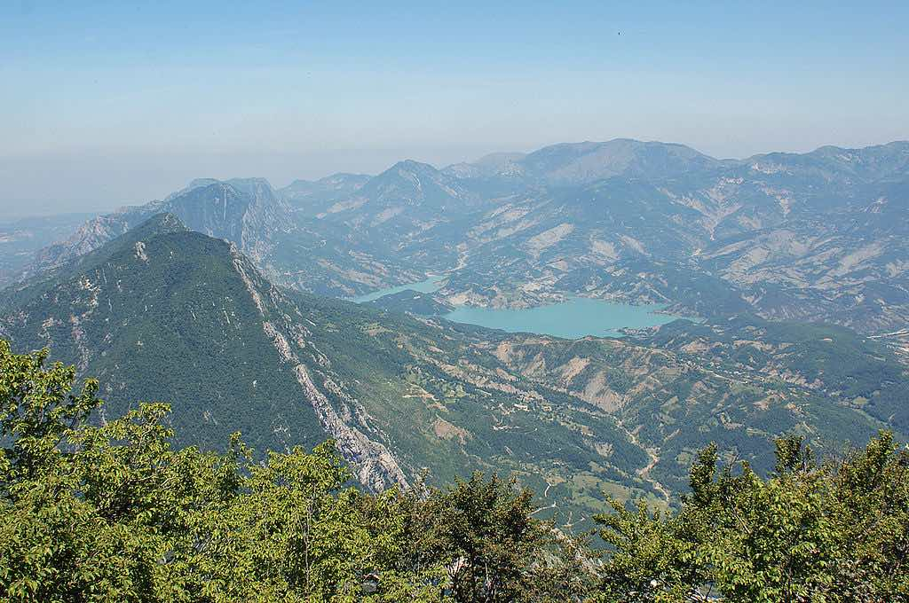 The views from Mount Dajti - by Albinfo:Wikimedia