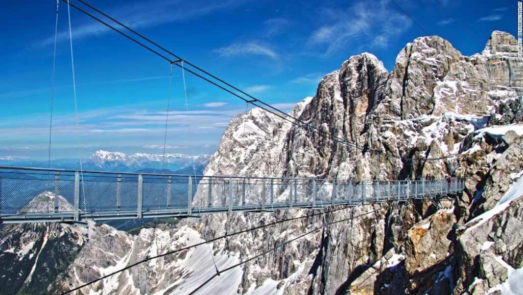 Dachstein Stairway to Nothingness, Austria - by CNN.com