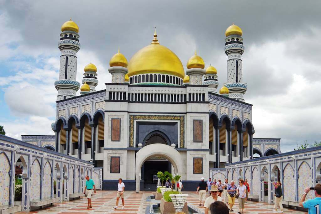 Jame Asr Hassanil Bolkiah Mosque, Brunei - by Balou46:Flickr