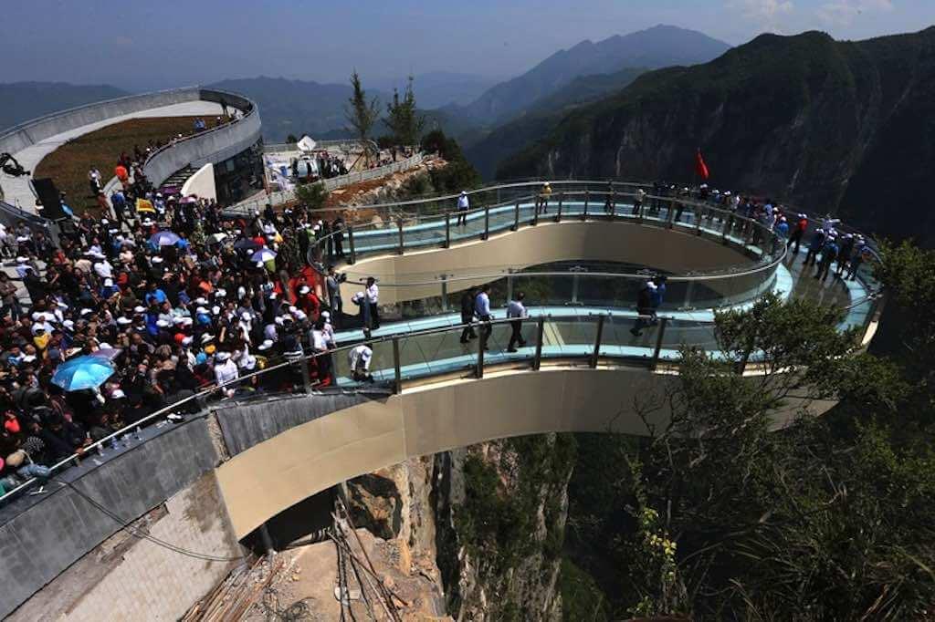 Longgang National Geological Park, Chongqing, China - by Imaginechina