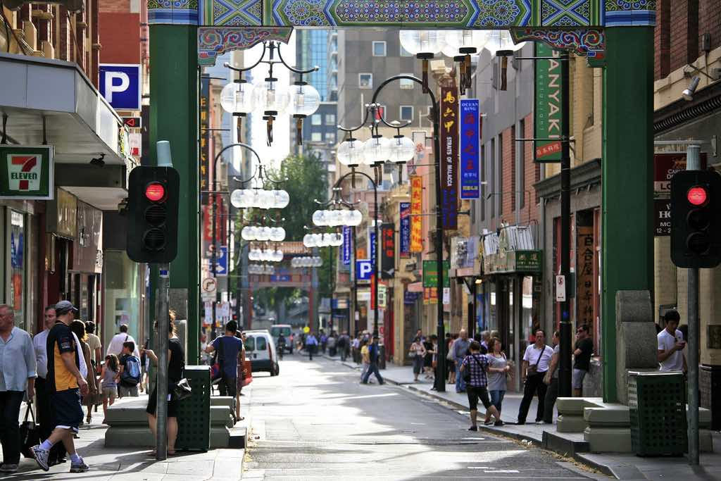 Melbourne Chinatown - by Alex E. Proimos/Flickr.com