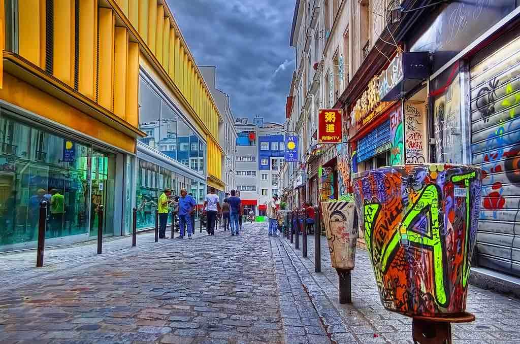 Paris Chinatown - by DinosaursAreNotDead:Flickr
