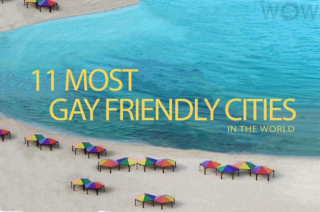community gathers in the most gay- friendly place on the