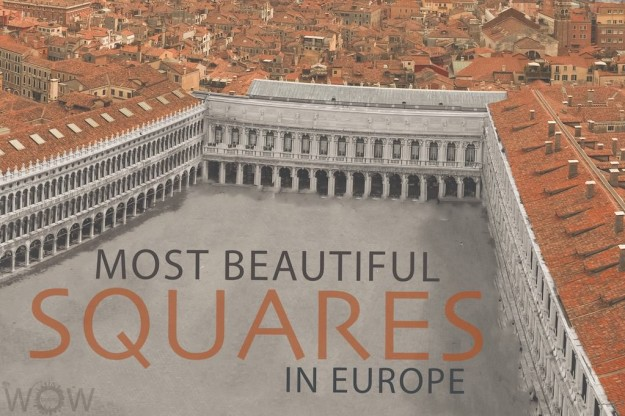 15 Most Beautiful Squares In Europe