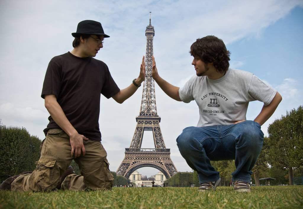 Eiffel Tower, Paris - Forced Perspective - by Ben Smith - benjaminasmith:Flickr