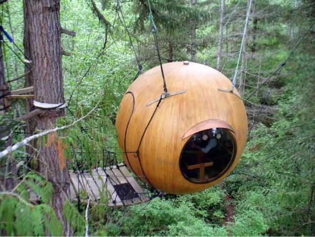 Free Spirit Spheres, Vancouver Island, Canada - by freespiritspheres.com