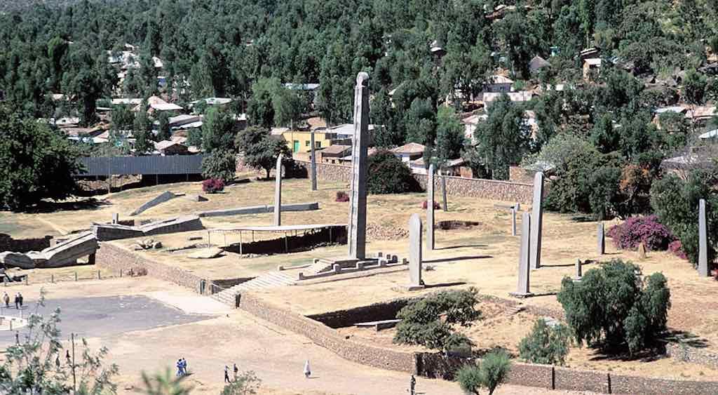 Obelisk of Axum, Aksum, Ethiopia - by Jialiang Gao :Wikimedia