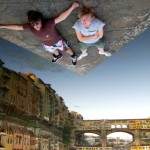 Ponte Vecchi, Florence - Forced Perspective - by Christiaan Triebert:Flickr
