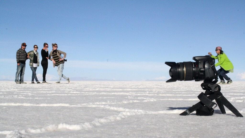 Salar de Uyuni, Bolivia - Forced Perspective - by Alex
