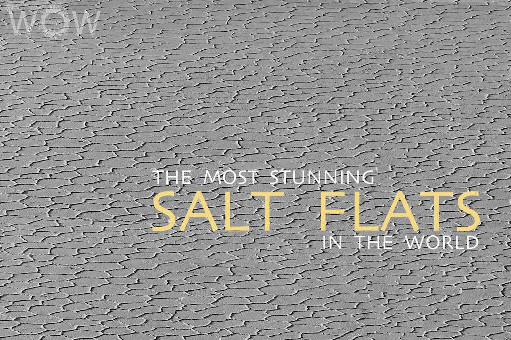 The 7 Most Stunning Salt Flats In The World