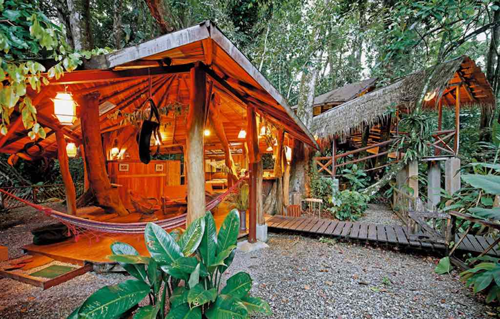 Tree House Lodge, Limón, Costa Rica - by costaricatreehouse.com