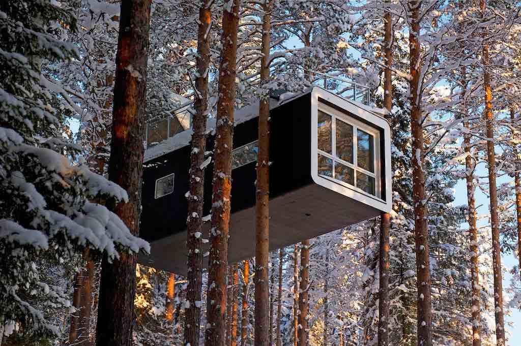 Treehotel, Harads, Sweden - The Cabin - by Arya Stone - stone_arya:Flickr