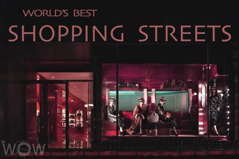 World's Best 9 Shopping Streets