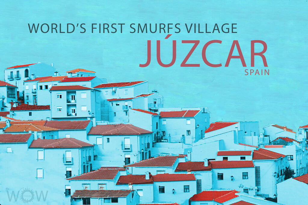 World's first Smurf Village- Júzcar
