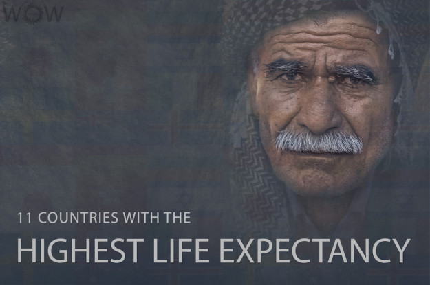 11 Countries With The Highest Life Expectancy