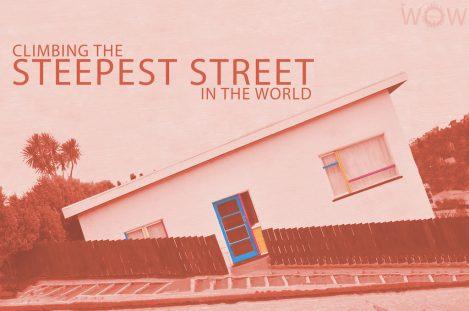 Climbing The Steepest Street In The World