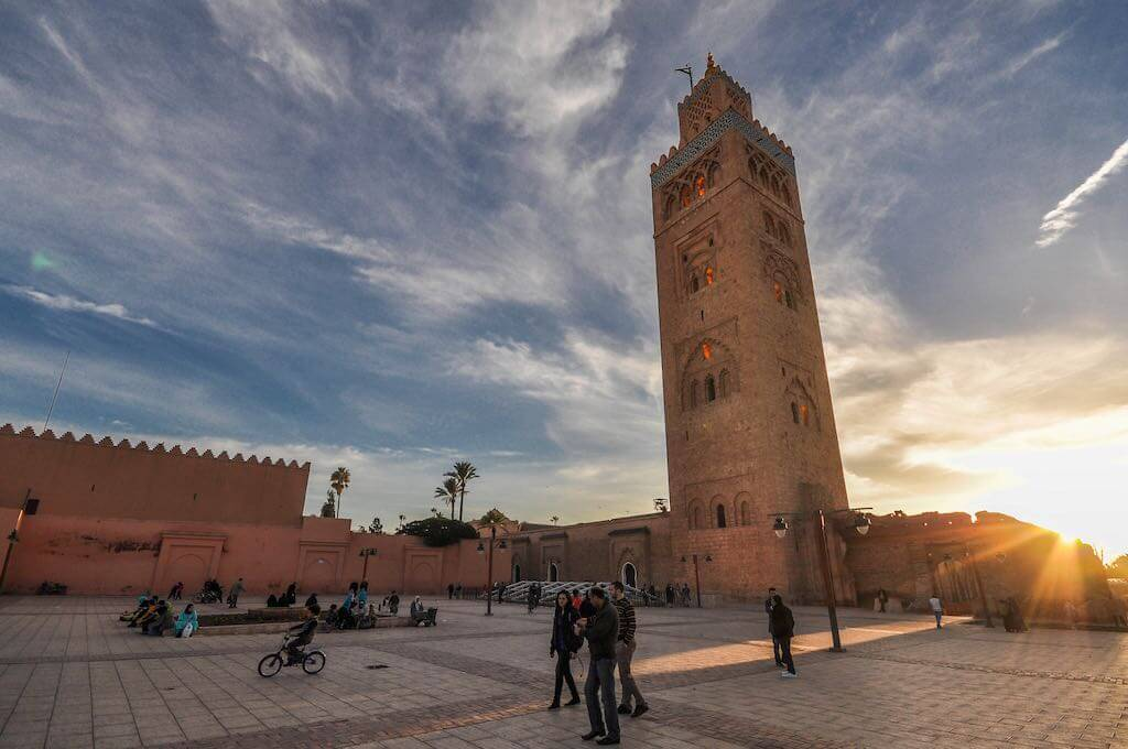Koutoubia Mosque, Marrakech - by Jorge Láscar /Flickr