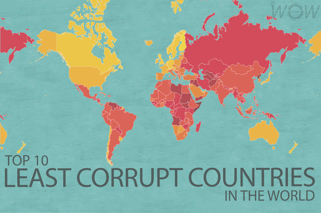 Top 10 Least Corrupt Countries In The World 2016