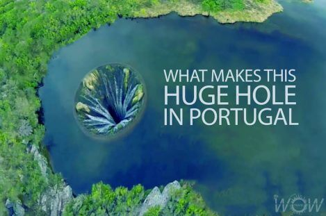 What Makes This Huge Hole In Portugal