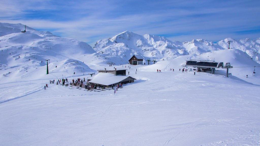Ski center of Vogel, Triglav, Julian Alps, Slovenia