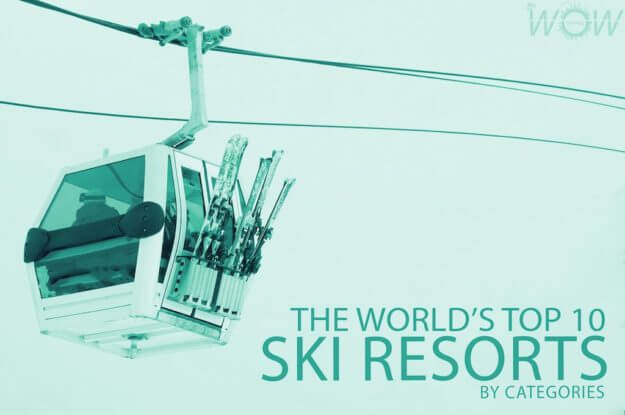The World's Top 10 Ski Resorts By Categories
