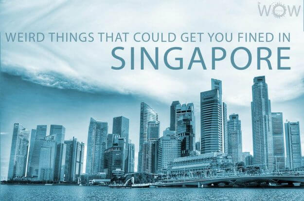 Weird Things That Could Get You Fined in Singapore