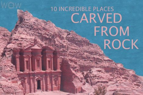 10 Incredible Places Carved From Rock