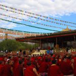 Dalai Lama - Mass Prayer, Ladakh - by WOW Travel