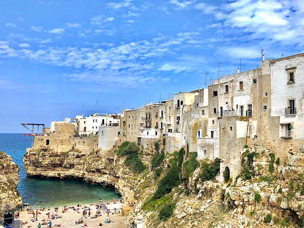 Lama Monachile Beach, Polignano a Mare - by WOW Travel