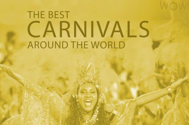 The 12 Best Carnivals Around The World