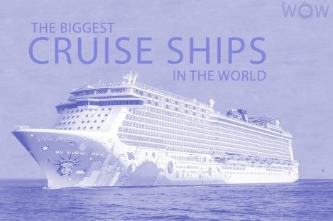 Top 12 Biggest Cruise Ships In The World