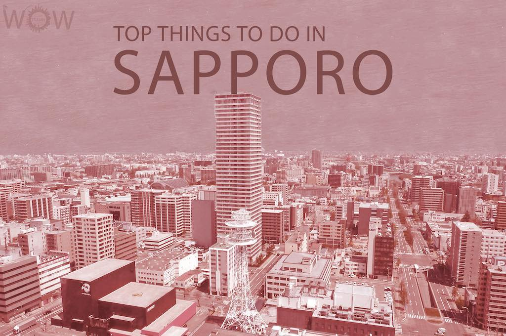 Top 12 Things To Do In Sapporo