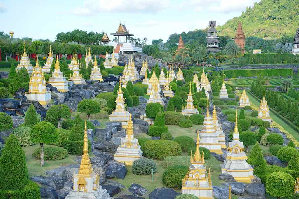 Pattaya Nong Nooch Tropical Garden Chonburi Garden