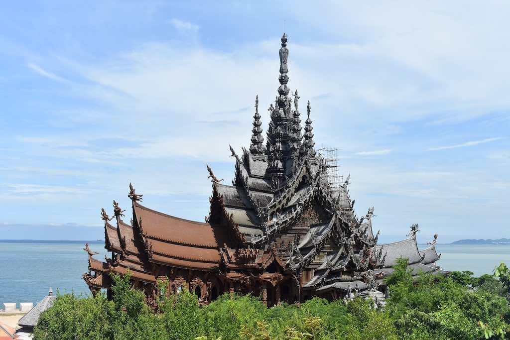 Sanctuary Of Truth, Pattaya - by AdamHillTravel : pixabay.com