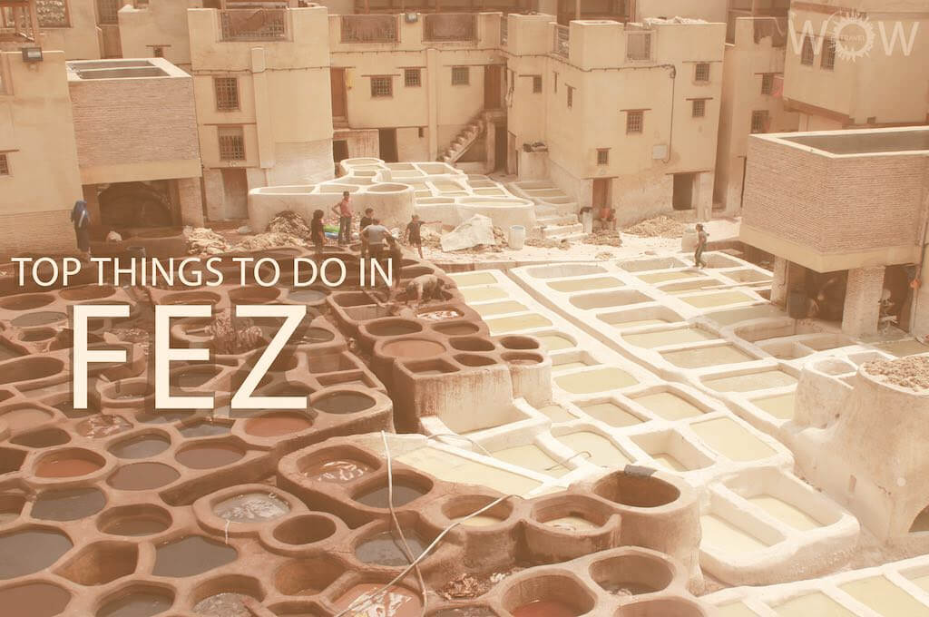 Top 12 Things To Do In Fez