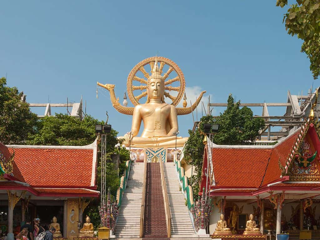 Big Buddha, KohSamui by Abrget47j / Wikimedia Commons