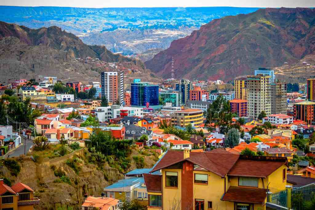 The highest capital in the world -La Paz, Bolivia -by Matthew Straubmuller/Flickr.com