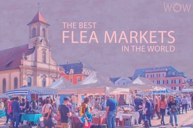 The 12 Best Flea Markets In The World